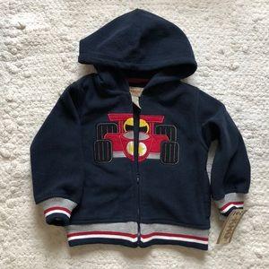 Kids Headquarters fleece hoodie size 24 month nwt